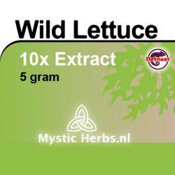 Wild Lettuce 10x Extr. 5gr.