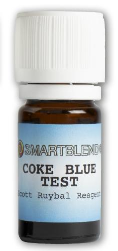 Coke Blue Test