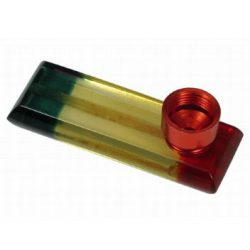 Acrylic rasta pipe